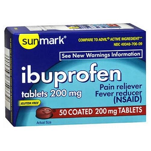 Sunmark Ibuprofen 50 tabs by Sunmark