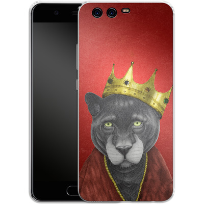 Huawei P10 Silikon Handyhuelle - The King Panther von Barruf