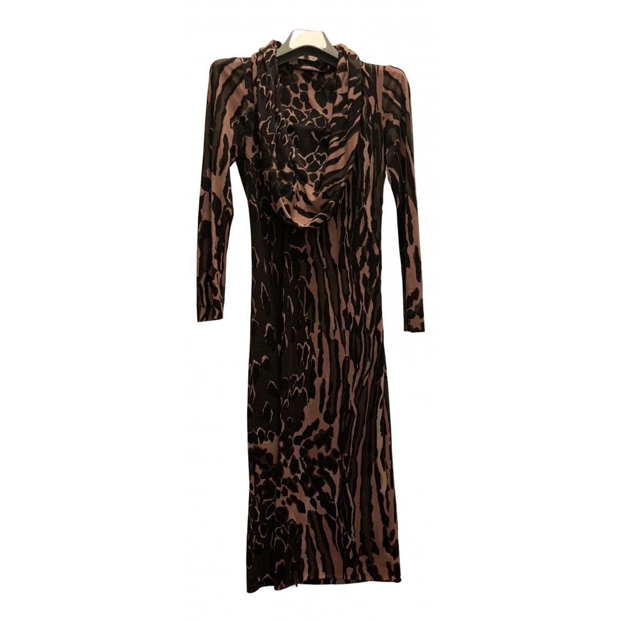 Roberto Cavalli \N Kleid in  Bunt Wolle