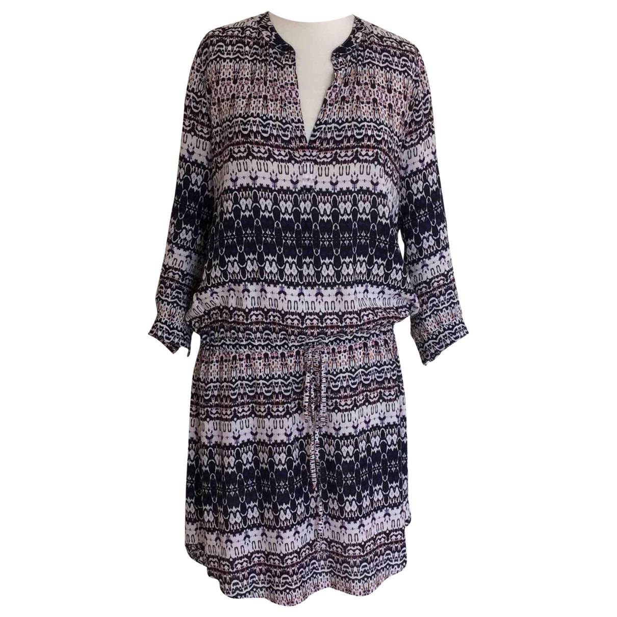 Velvet \N Kleid in  Bunt Baumwolle