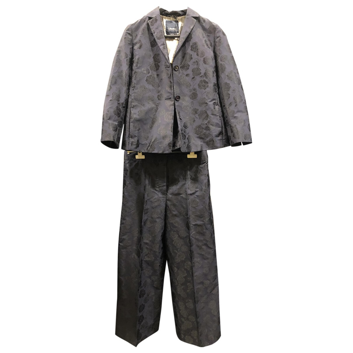 Max Mara \N Blue jacket for Women 38 IT