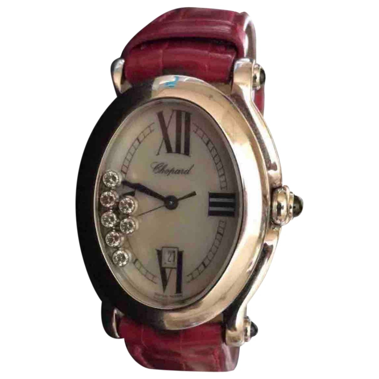 Chopard Happy Sport Uhr in  Rot Stahl