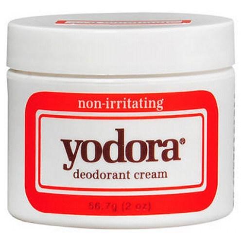 Yodora Deodorant Cream Jar 2 oz by Yodora