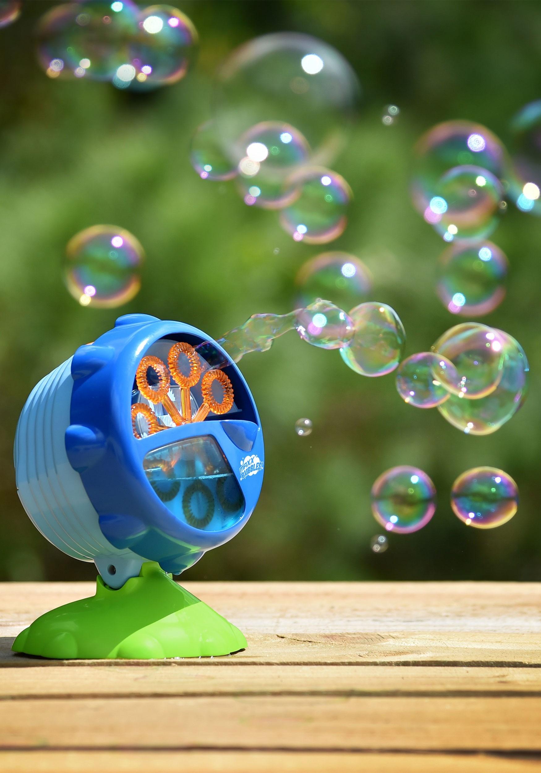Light-Up LED Turbo Bubble Machine