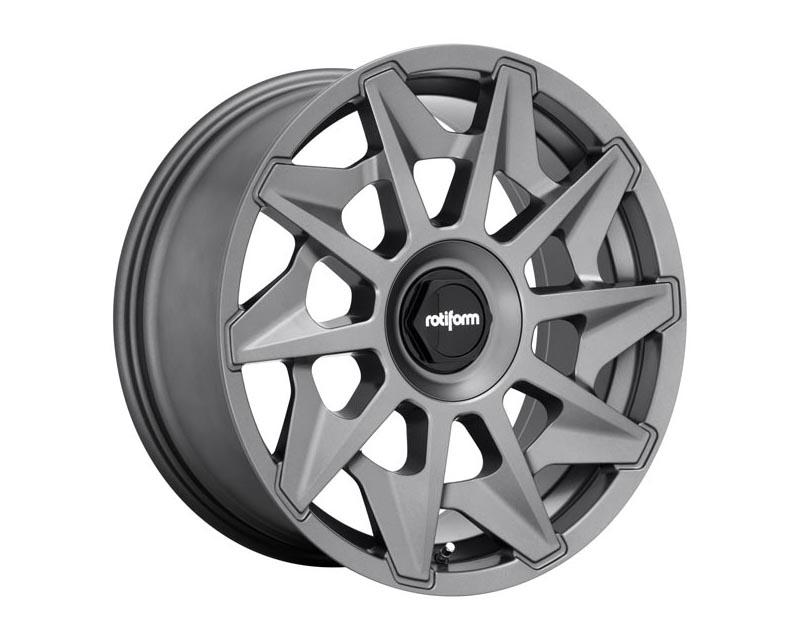 Rotiform R128198507+35 1 Piece CVT Wheel 19x8.5 5X112/4.5 35mm Matte Anthracite