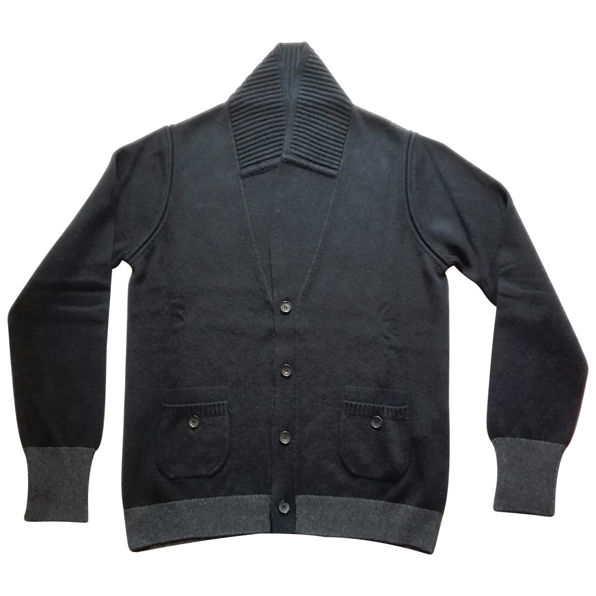 Louis Vuitton \N Pullover.Westen.Sweatshirts  in  Schwarz Kaschmir