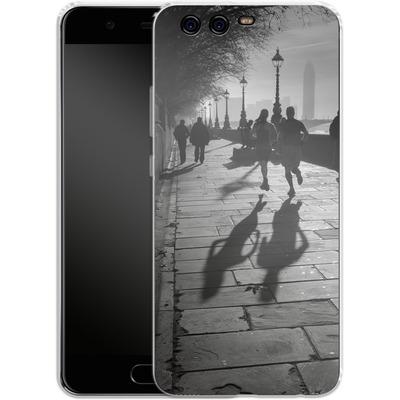Huawei P10 Silikon Handyhuelle - Walk If You Must von Ronya Galka