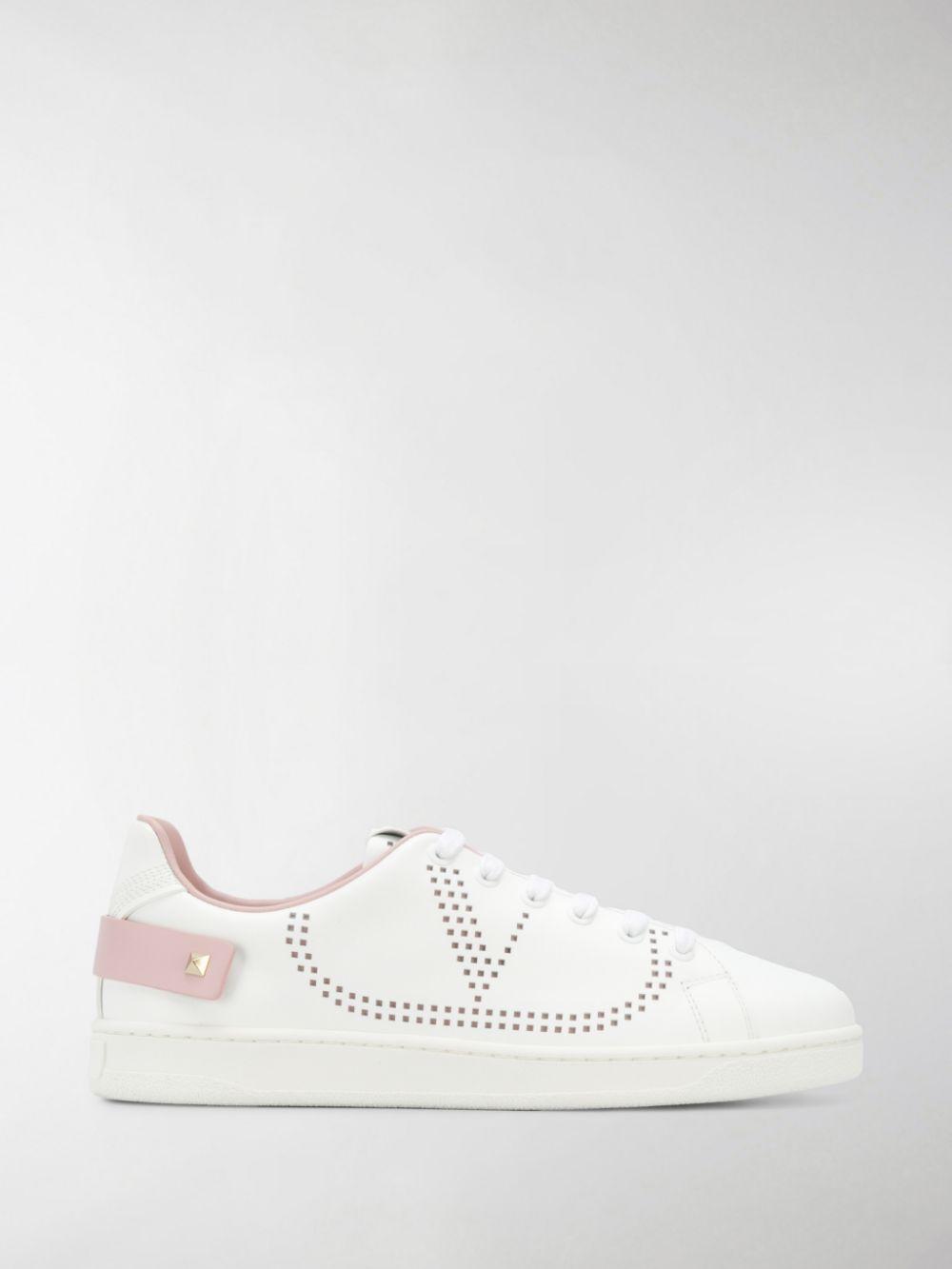 Backnet Leather Sneakers