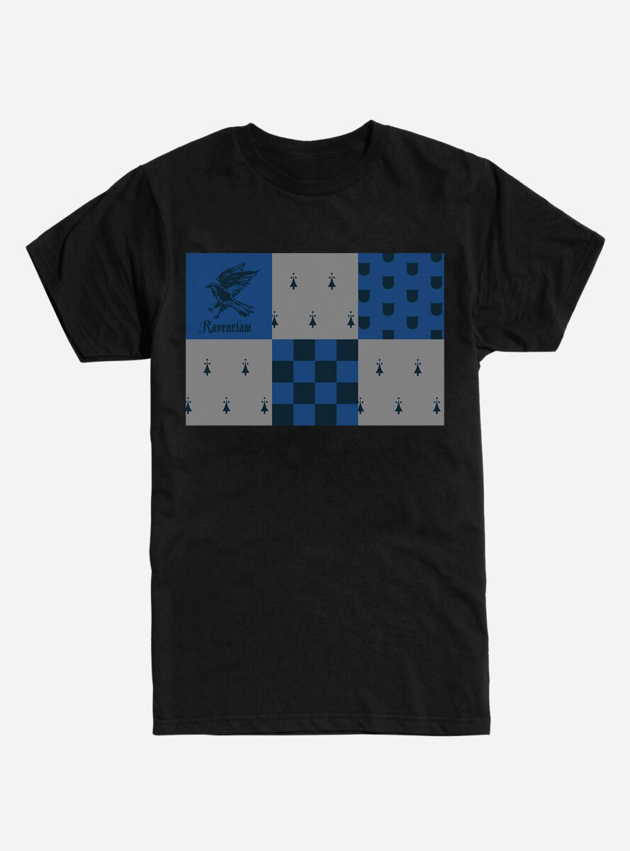 Harry Potter Ravenclaw Checkered T-Shirt
