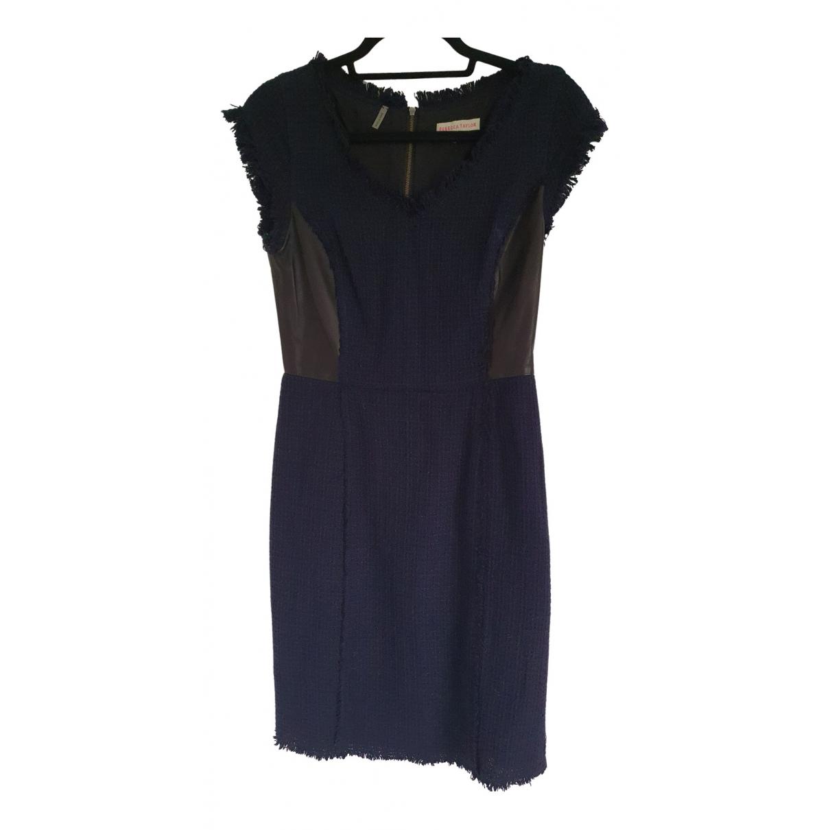 Rebecca Taylor N Blue Tweed dress for Women 2 US