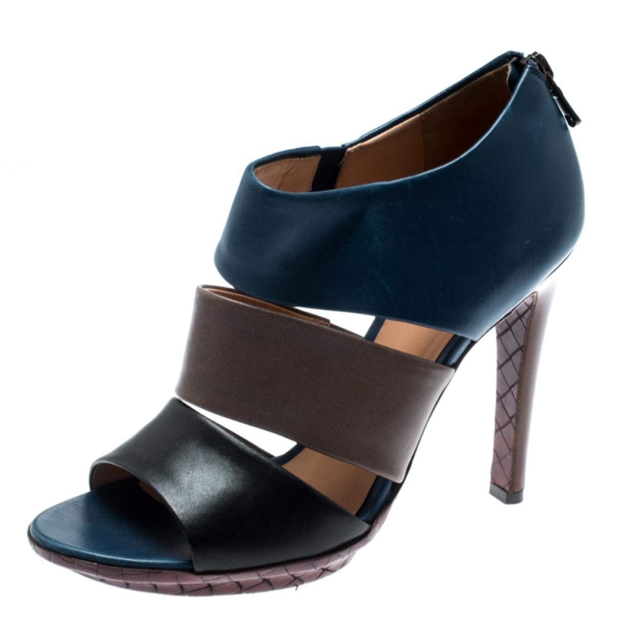 Bottega Veneta \N Multicolour Leather Sandals for Women 36.5 EU