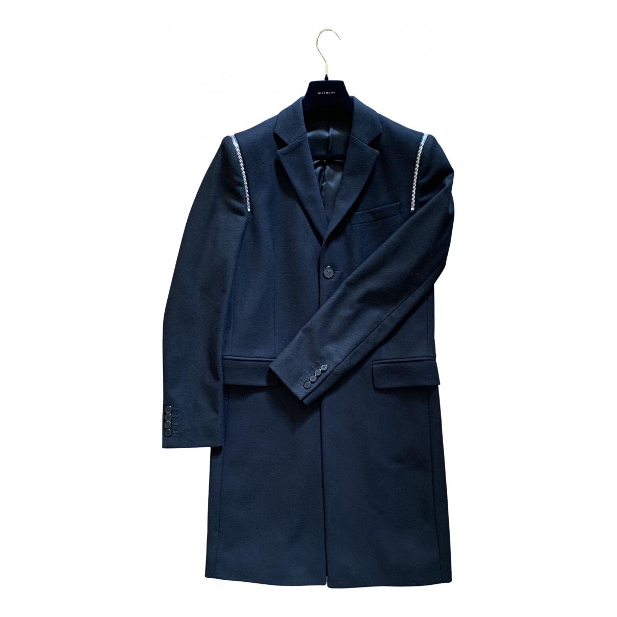 Givenchy - Manteau   pour homme en laine - noir