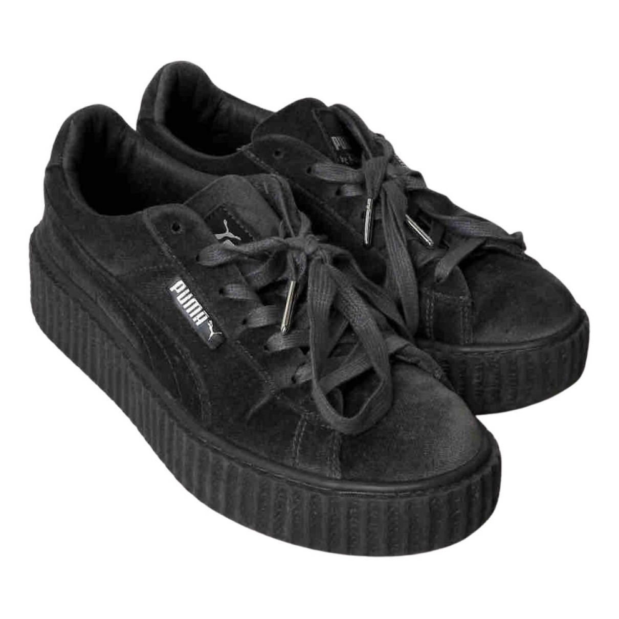 Fenty X Puma N Grey Velvet Trainers for Women 38.5 EU