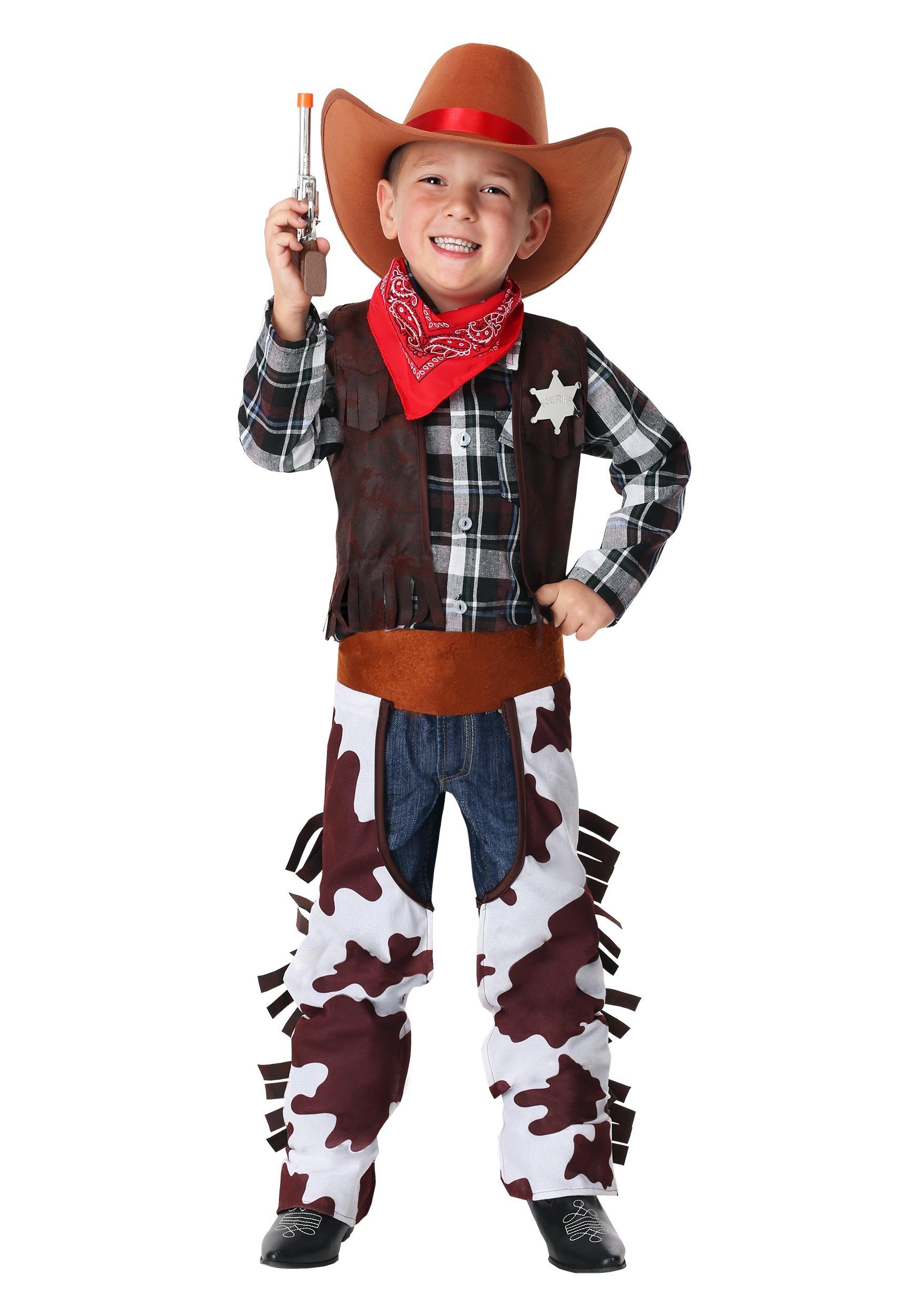Wild West Sheriff Boy's Costume
