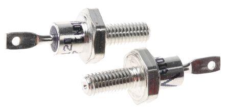 Vishay 1200V 12A, Silicon Junction Diode, 2-Pin DO-4 VS-12F120 (5)