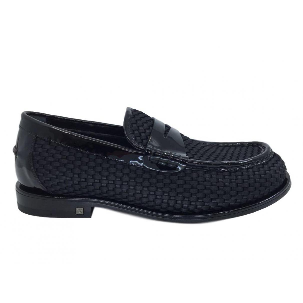 Louis Vuitton \N Black Cloth Flats for Men 6.5 UK