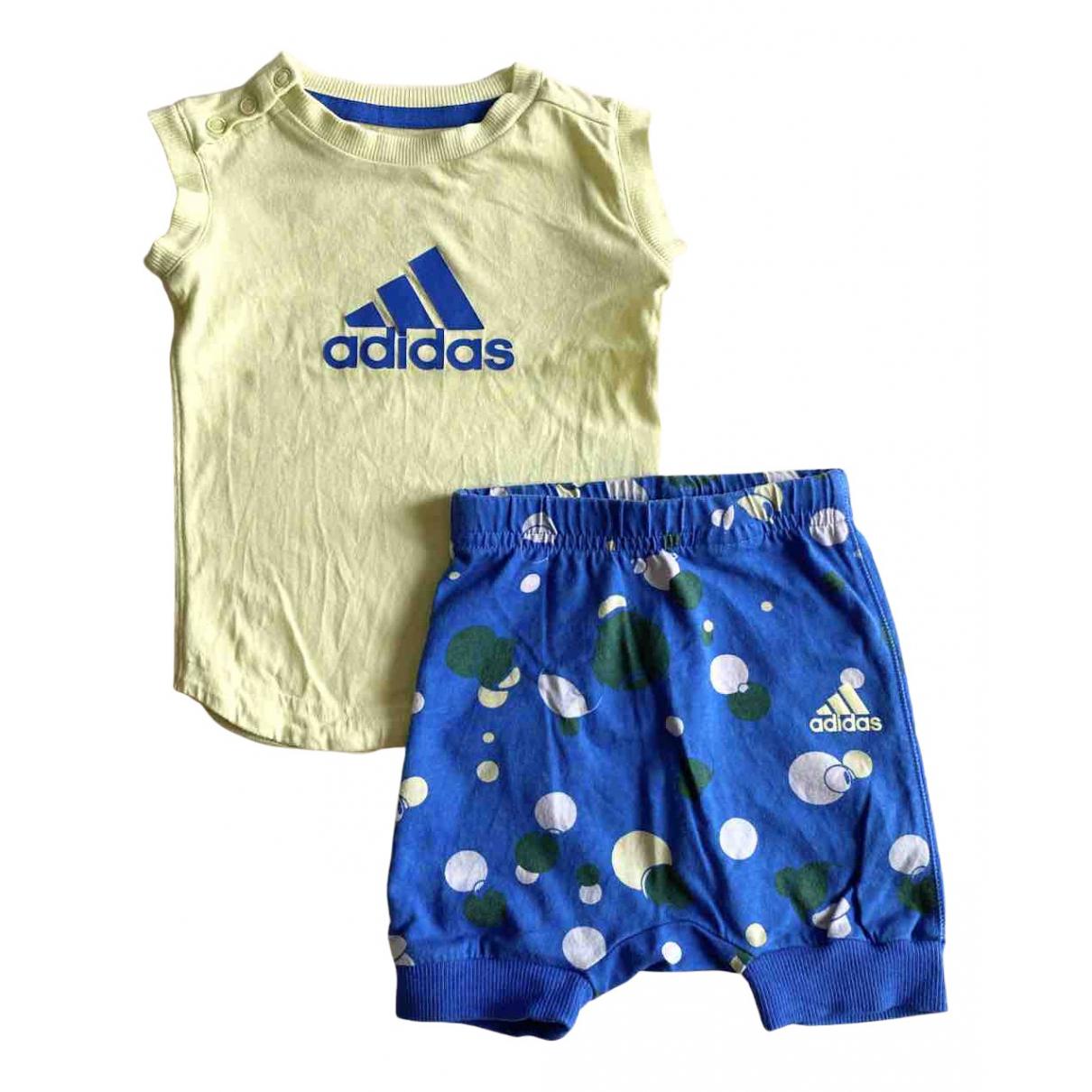Adidas \N Sets in  Gelb Baumwolle