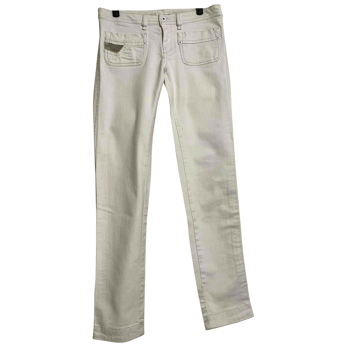 Diesel N White Denim - Jeans Jeans for Women 34 FR