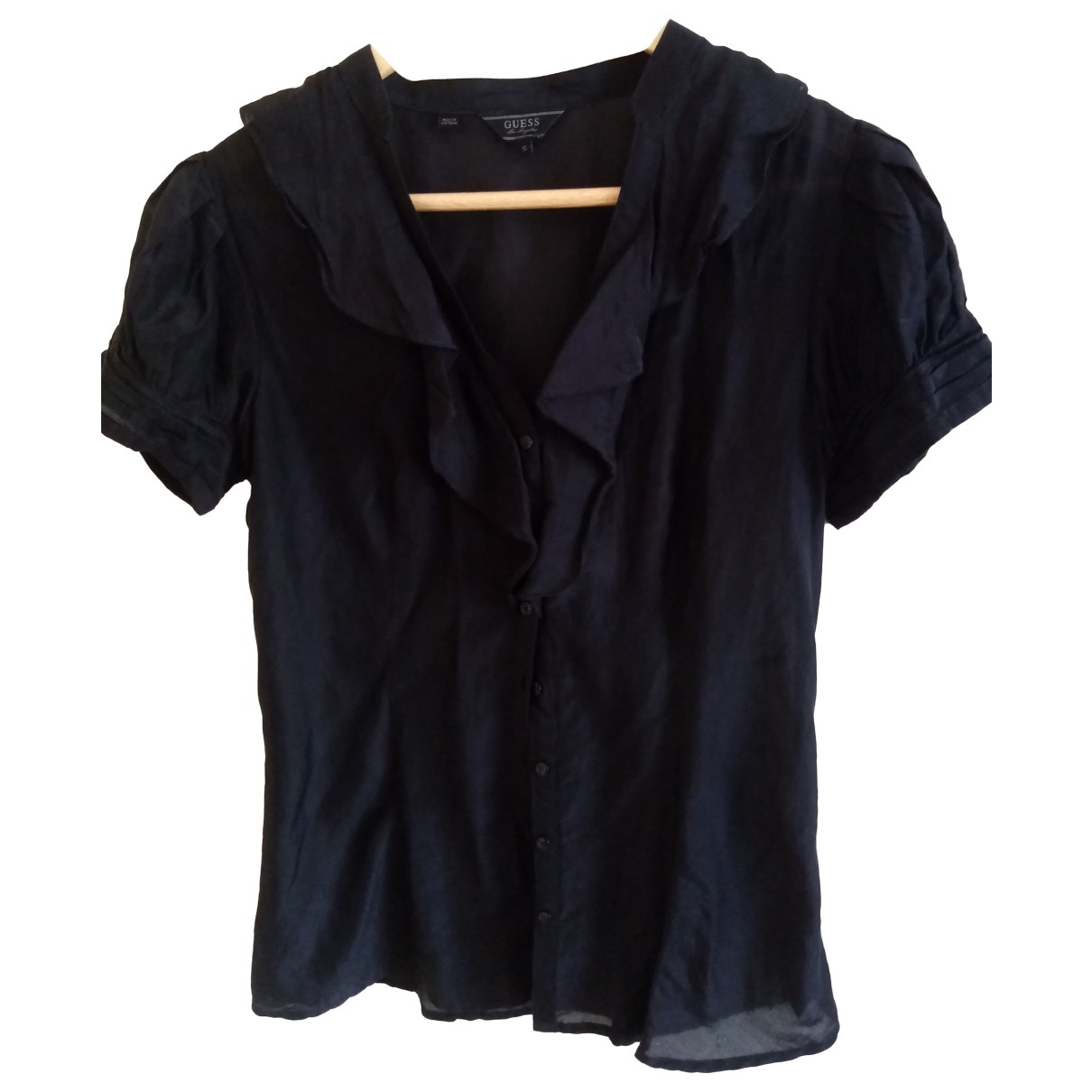 Guess \N Black Cotton  top for Women S International