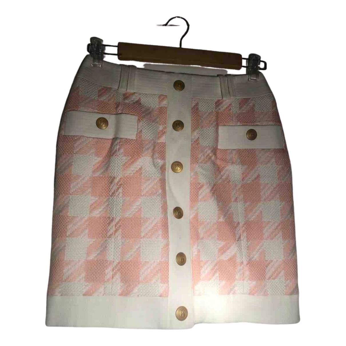 Pierre Balmain - Jupe   pour femme en coton - rose