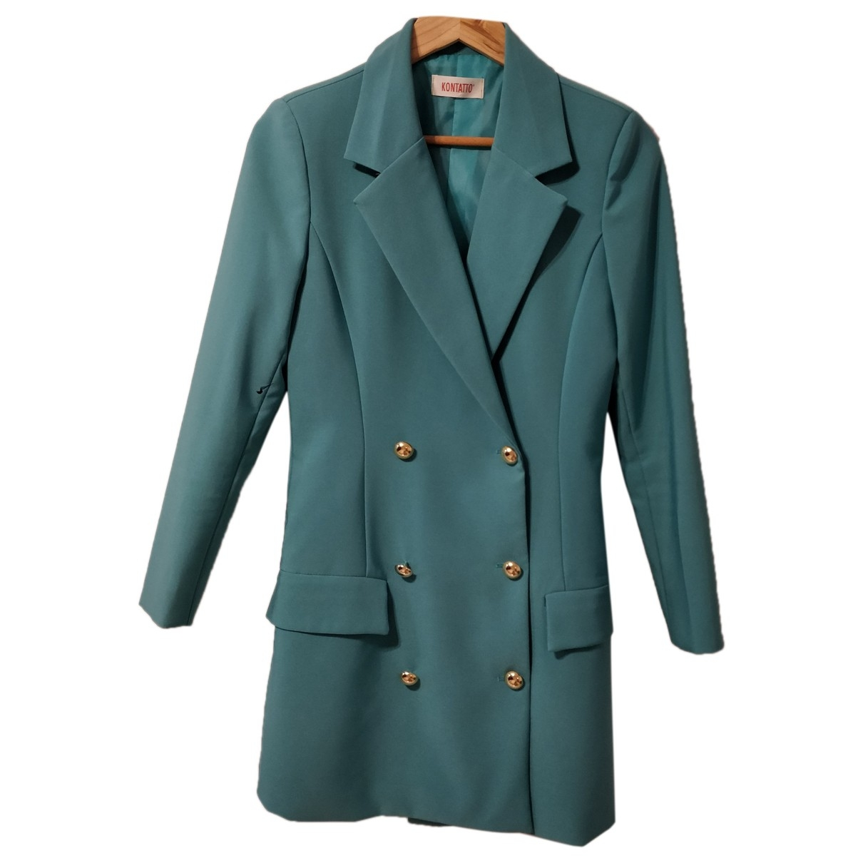 Non Signé / Unsigned \N Turquoise dress for Women S International