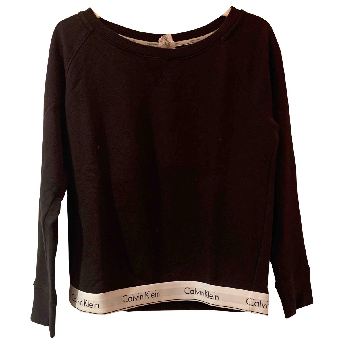 Calvin Klein \N Black Cotton Knitwear for Women M International