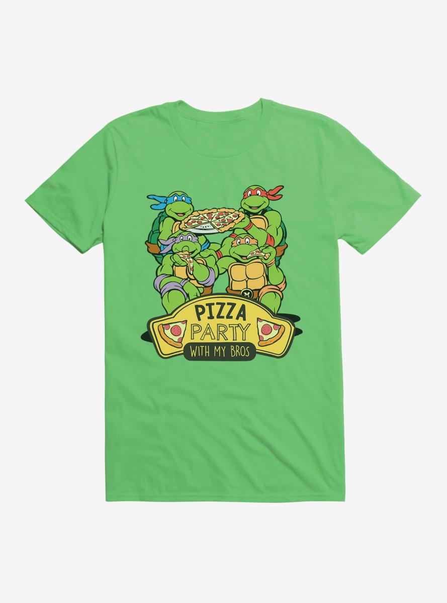 Teenage Mutant Ninja Turtles Party With My Bros T-Shirt