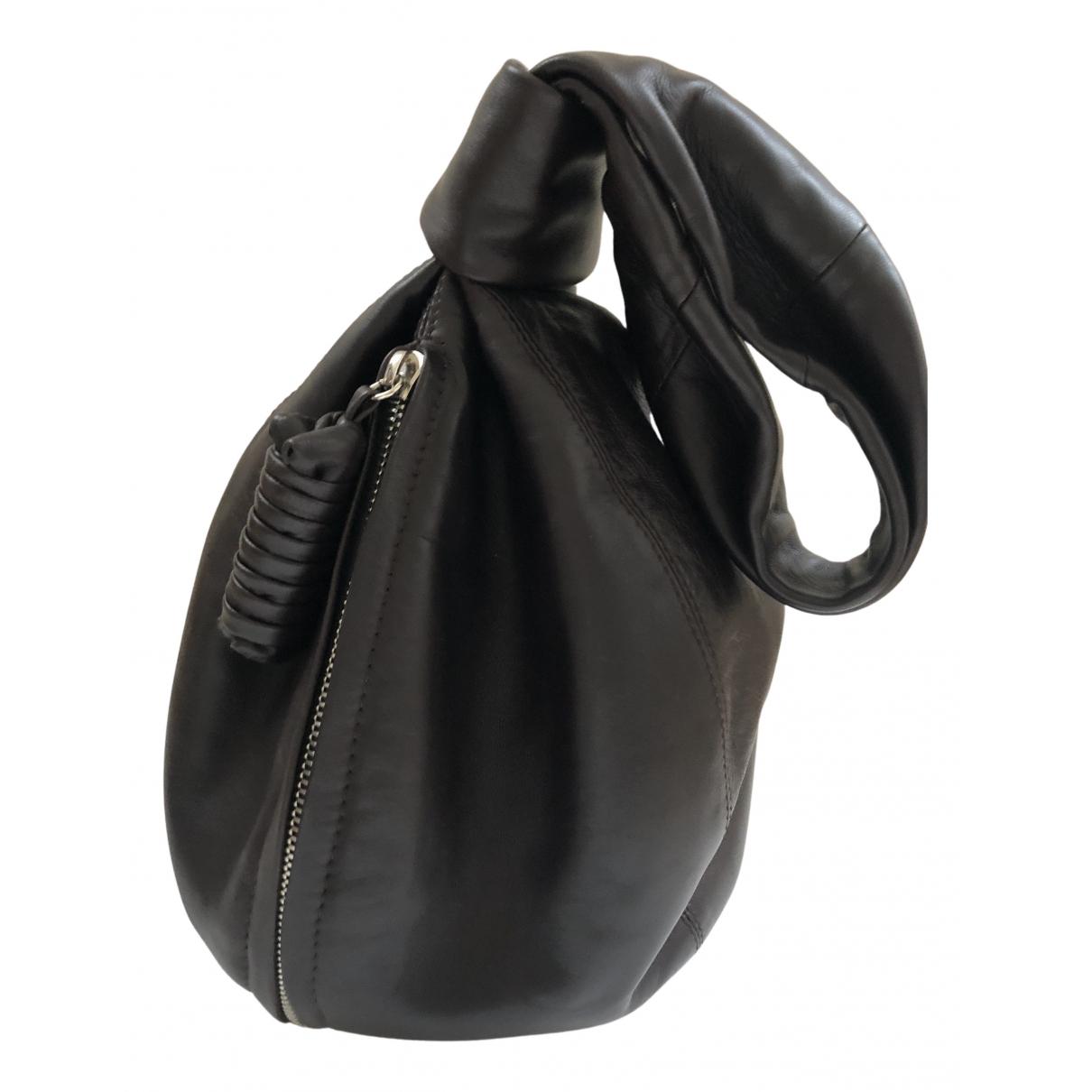 Lemaire N Brown Leather handbag for Women N