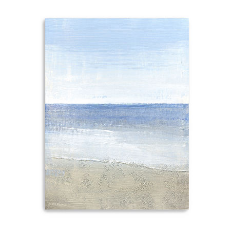 Sparkling Waters I Giclee Canvas Art, One Size , Blue