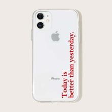 Slogan Grafik iPhone Huelle