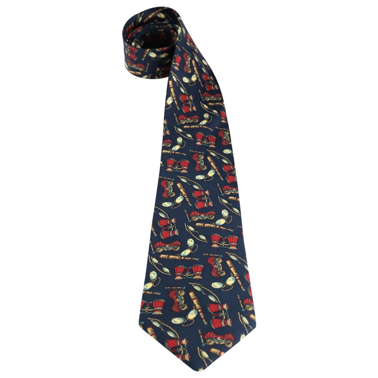 Nina Ricci - Cravates   pour homme en soie - marine