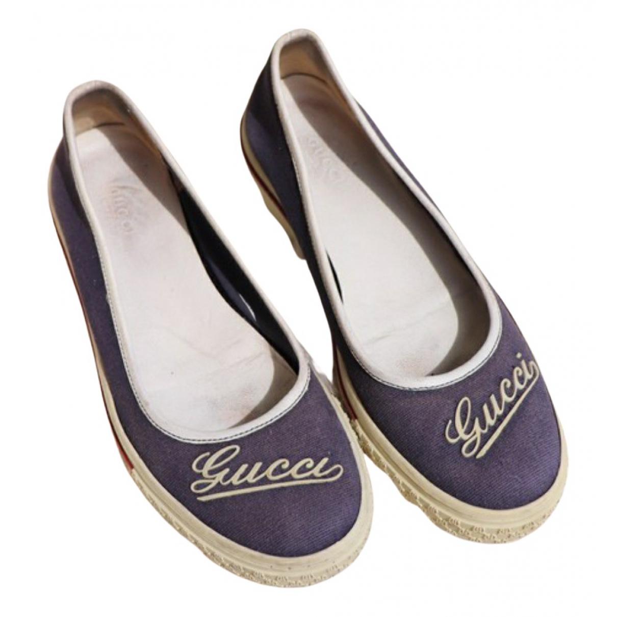 Bailarinas de Lona Gucci