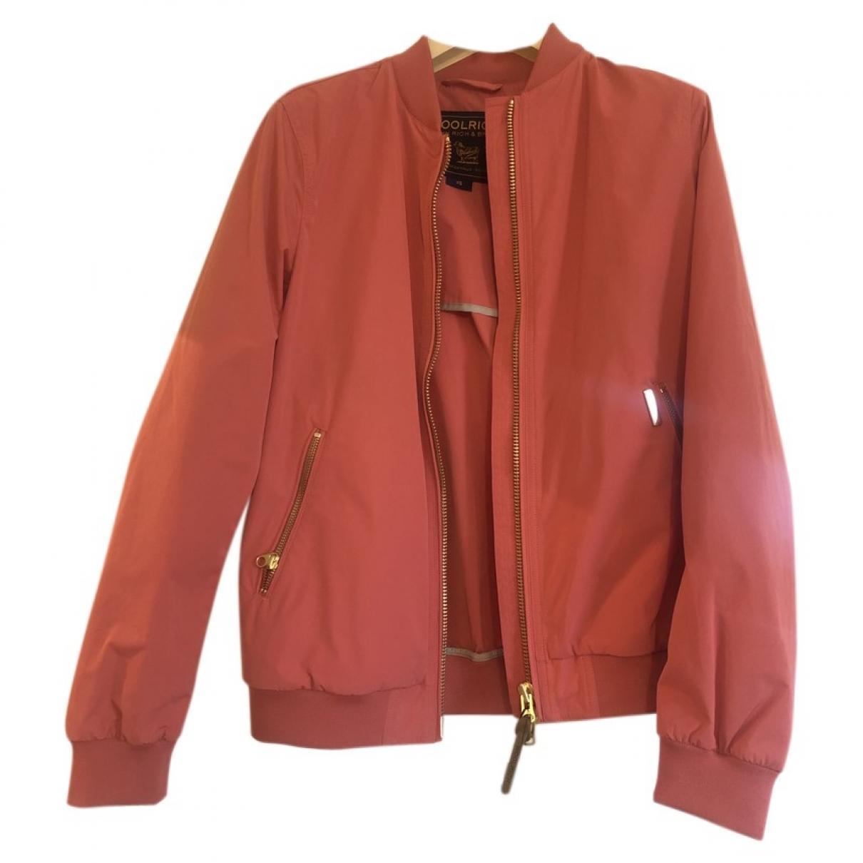 Woolrich - Veste   pour femme - rose
