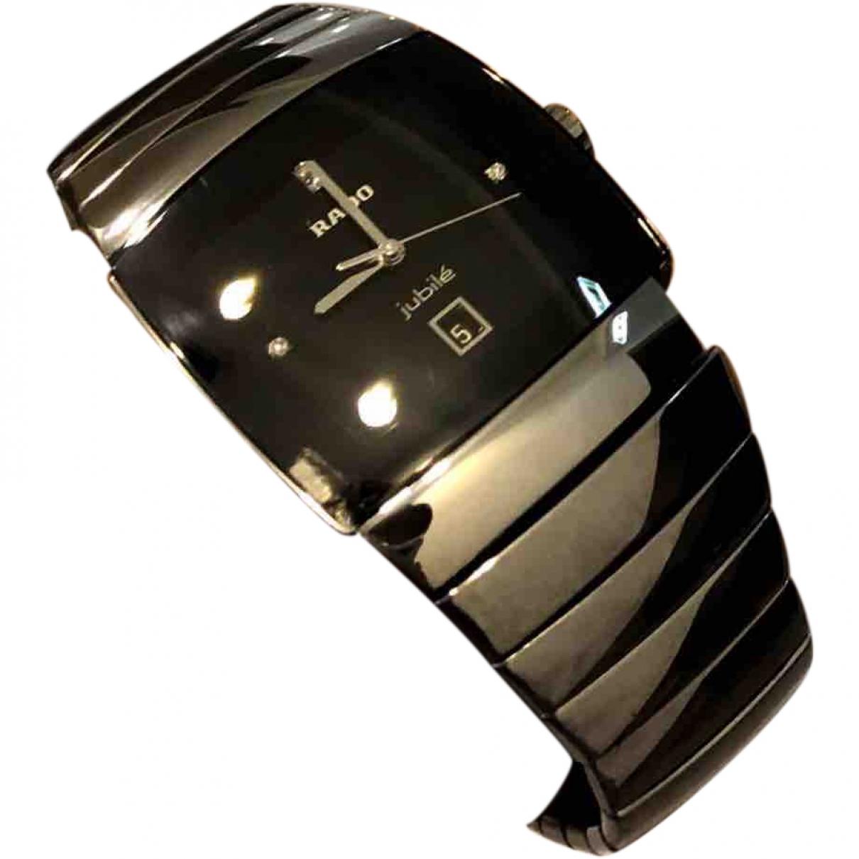 Rado \N Black Ceramic watch for Men \N