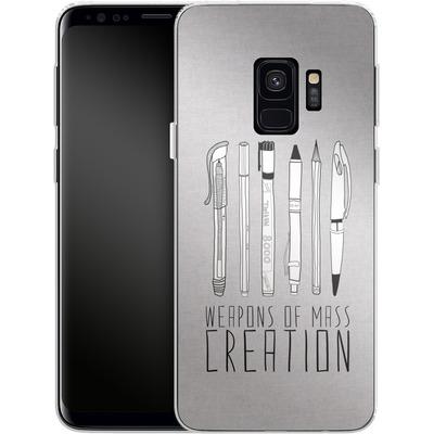 Samsung Galaxy S9 Silikon Handyhuelle - Weapons Of Mass Creation von Bianca Green