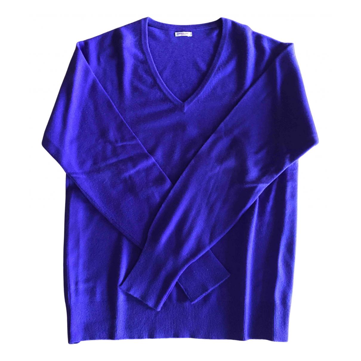 Non Signé / Unsigned N Purple Cashmere Knitwear & Sweatshirts for Men M International