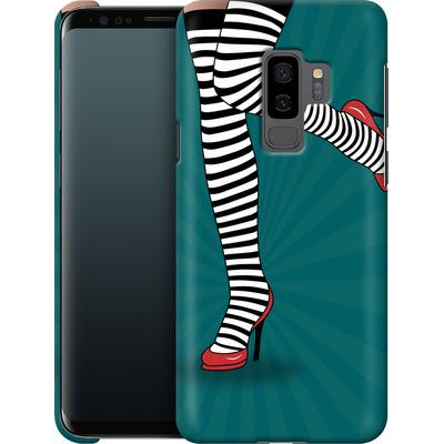 Samsung Galaxy S9 Plus Smartphone Huelle - Stripy Tights von Mark Ashkenazi