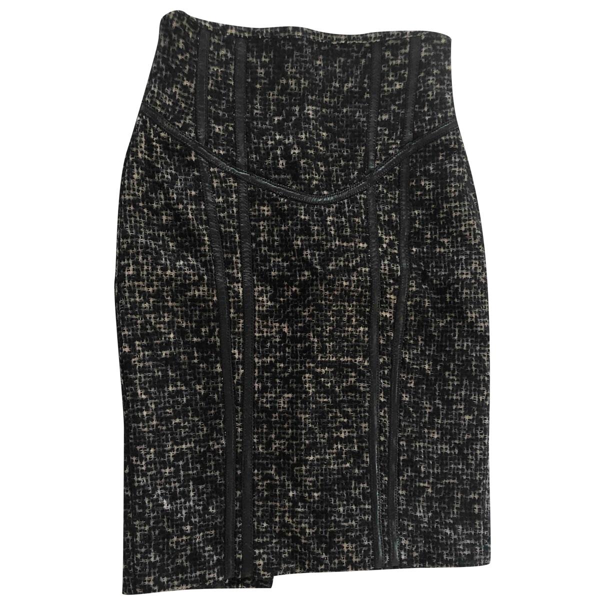 Zara \N Rocke in  Schwarz Tweed