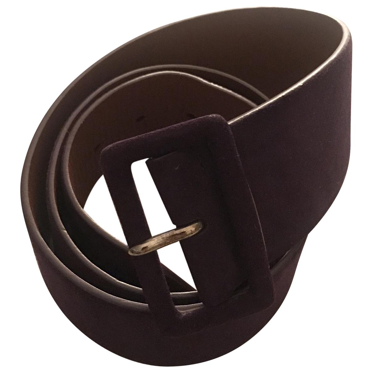 Ralph Lauren \N Purple Leather belt for Women S International
