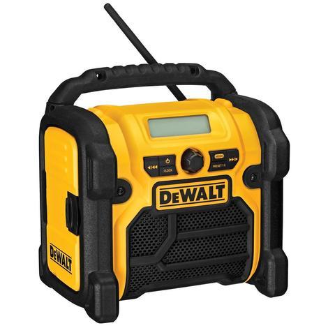 DeWalt 18V/20V/12V MAX Compact Work Site Radio