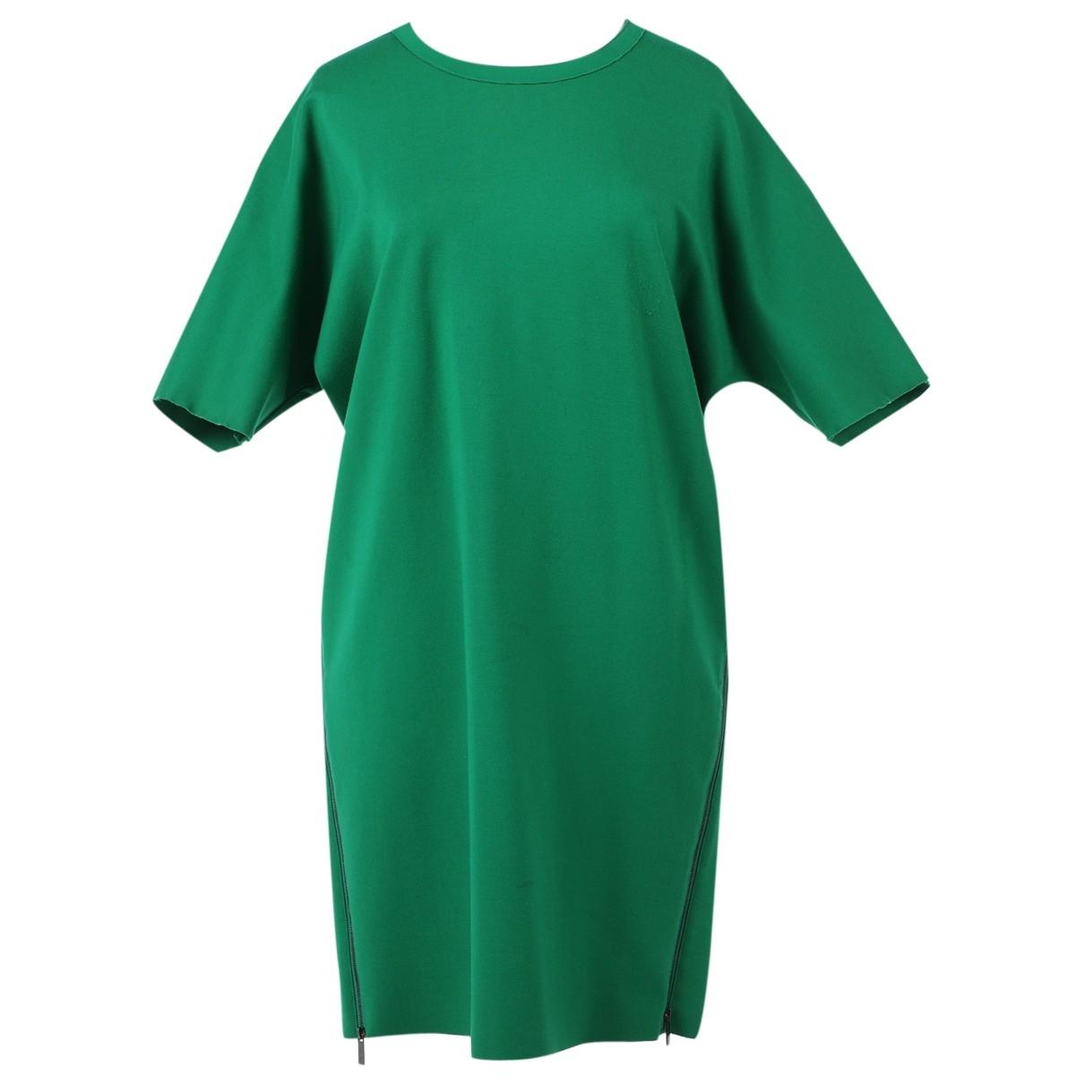 Calvin Klein \N Kleid in  Gruen Synthetik