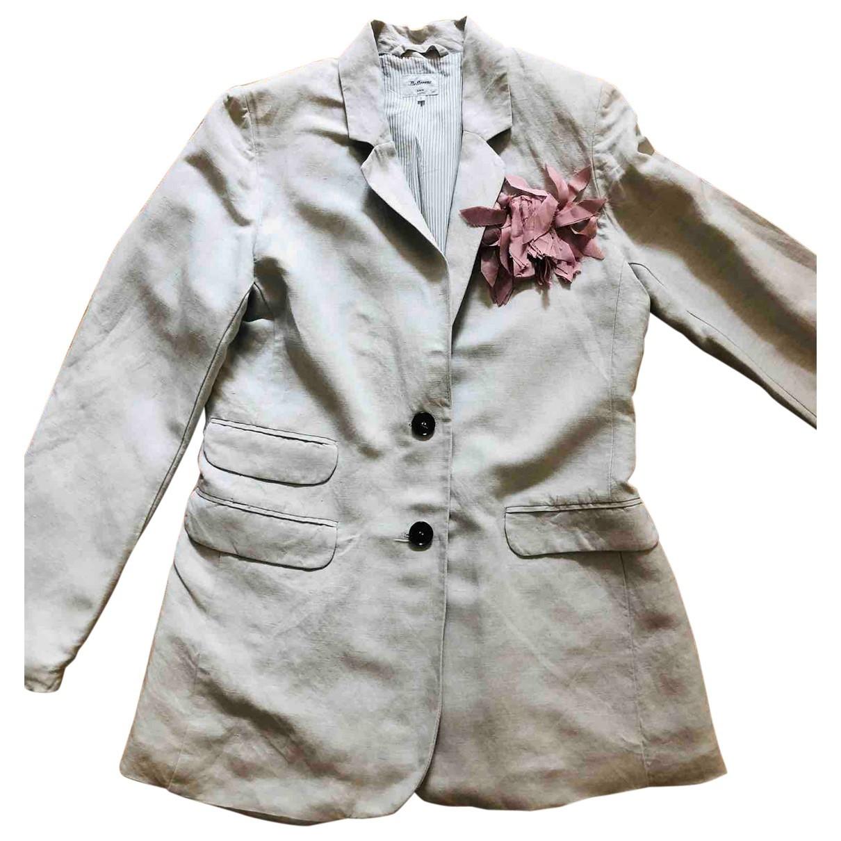 Bellerose \N Beige Linen jacket for Women 2 0-5