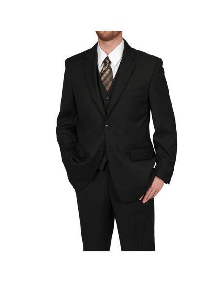 Mens Three Piece Rossi Man Thomas Blue Slim Fit Suit