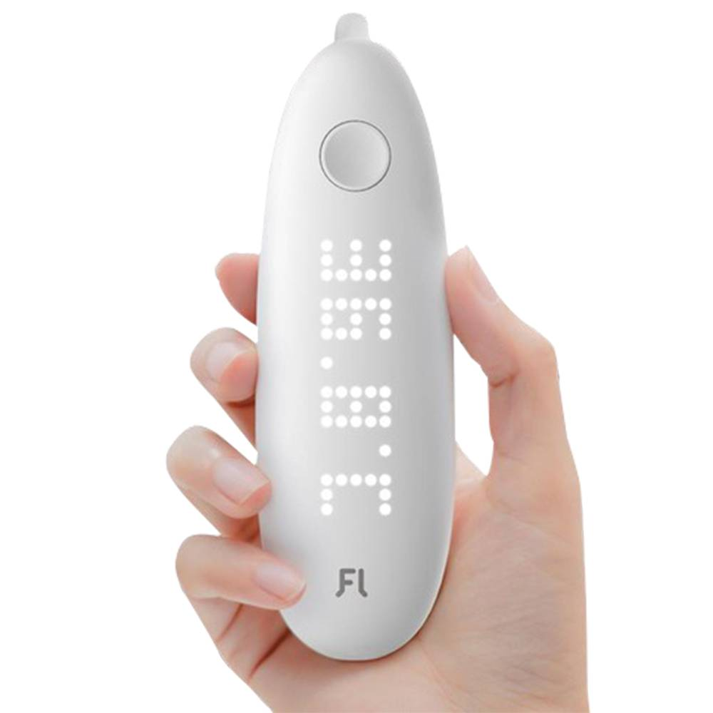 Fanmi Smart Ear Thermometer LED Digital Display Measure Temperature in one Second From Xiaomi Ecosystem - White