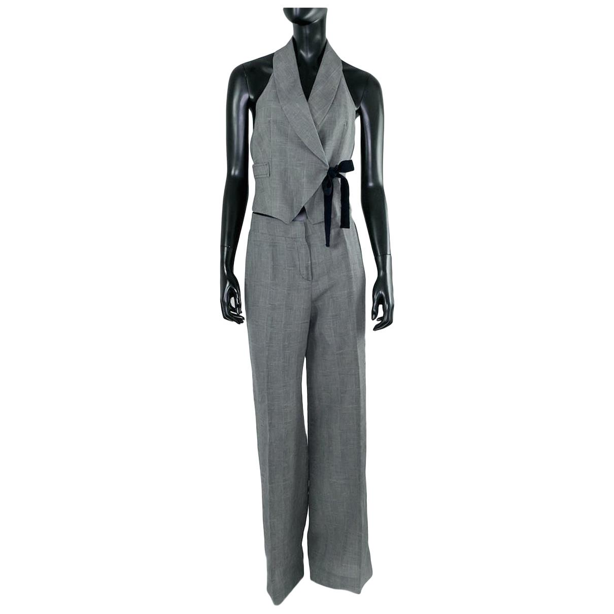 Max Mara N Grey Cotton jumpsuit for Women S International