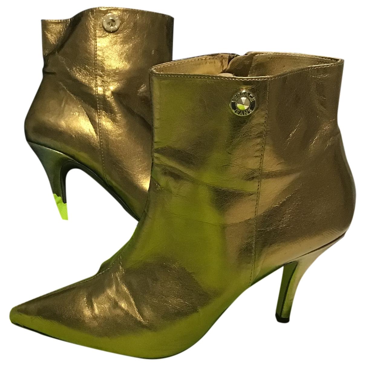 Versace Jean - Boots   pour femme en cuir