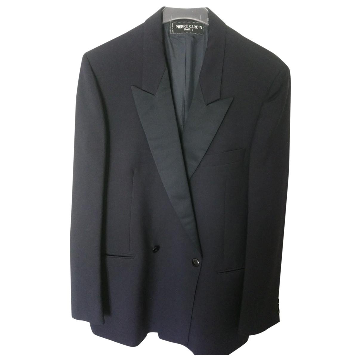 Pierre Cardin \N Navy Wool Suits for Men 50 FR