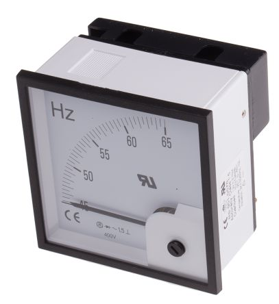 RS PRO Frequency Meter, ±1.5 % 96mm x 96mm