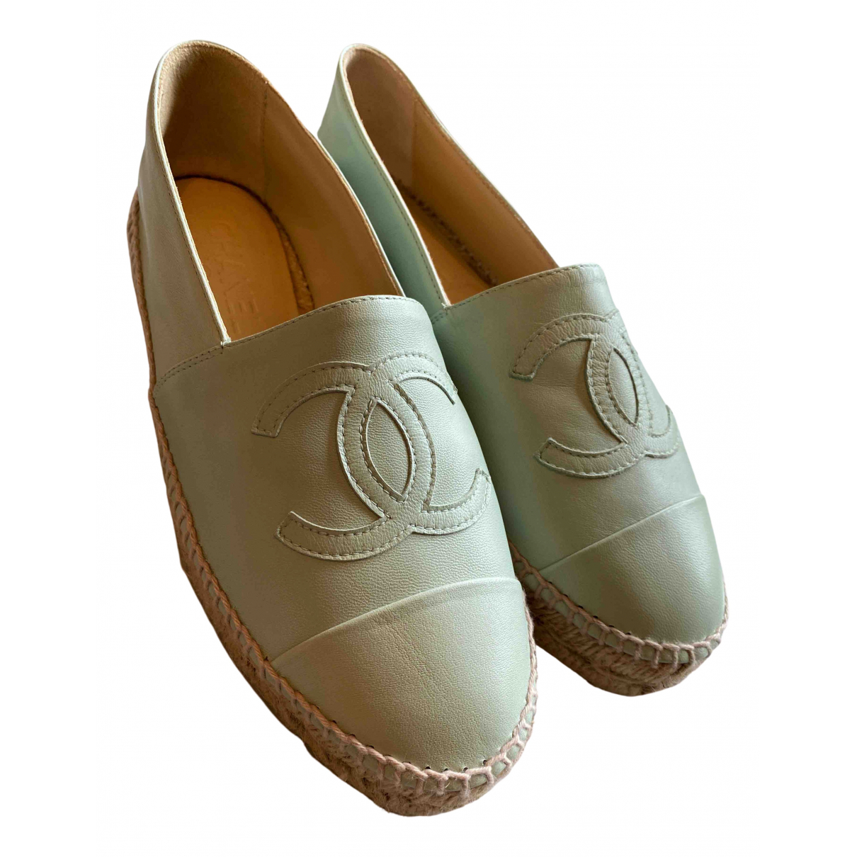Chanel - Espadrilles   pour femme en cuir