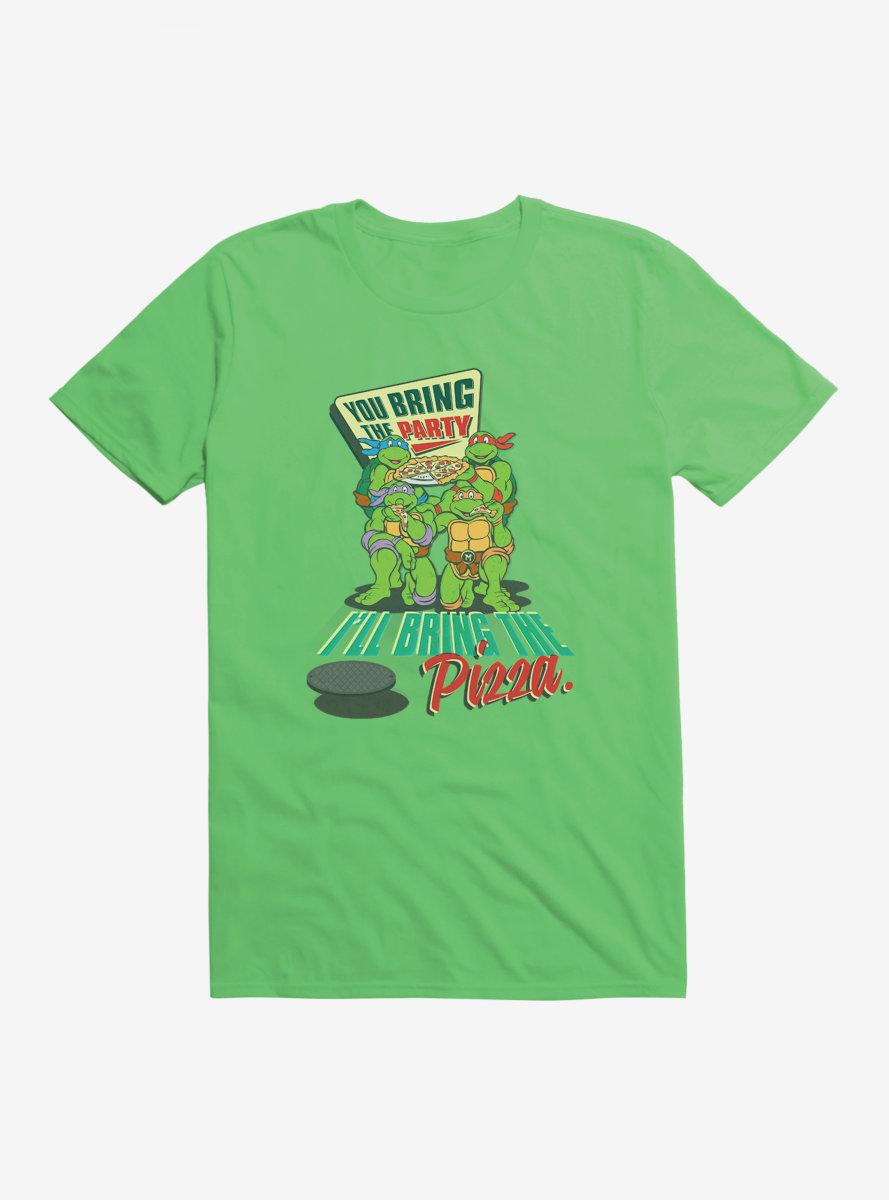 Teenage Mutant Ninja Turtles Bring The Pizza T-Shirt